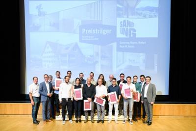 Verleihung Vorarlberger Holzbaupreis 2019 am 5. Juli in Götzis