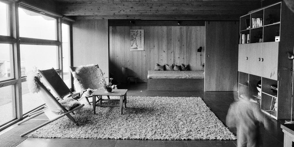 Rudolf Wäger, Siedlung Ruhwiesen, Schlins, 1971–1973 Innenraum