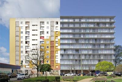 Druot, Lacaton & Vassal, Transformation des Tour Bois-le-Prètre, Paris, 2005 – 2011